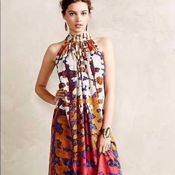 f77f3b375d4 Anthropologie Dresses   Skirts - Lorna Fencer Anthropologie Maxi Dress Size  ...